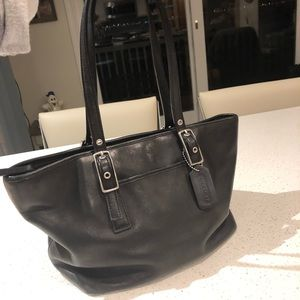Coach bag beautiful leather bag